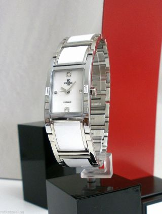 Kienzle Damenuhr Metall Armband Mit Ceramic Bild