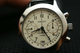 Poljot Cal.  3133 Chronograph Handaufzug Mechanisch,  Ovp Bild