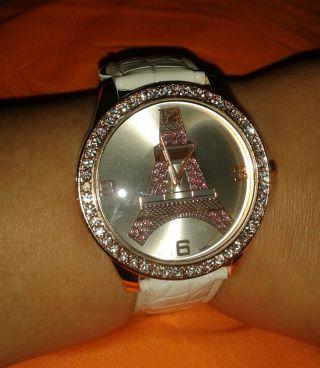Schicke Damenuhr Armbanduhr Bild