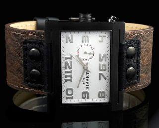 Bisset Bs25b51 Soutch Promo Herrenuhr Swiss Made Armbanduhr Bild