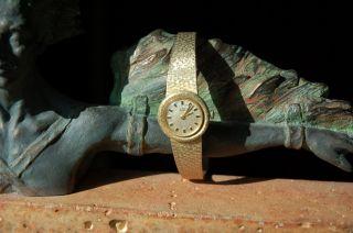 Vintage Damenuhr 585er 14k - Gold,  - 36,  7 Gramm -,  Bwc Swiss - Handaufzug Bild