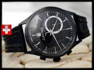 Bisset Bscc78 Retrograph 5 Atm Swiss Made Herrenuhr Armbanduhr Bild