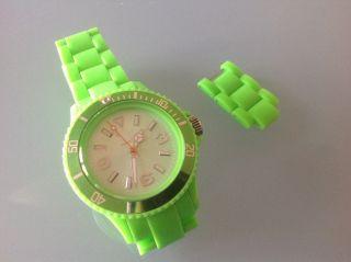 Orginal Ice Watch Uhr Selten 1.  Serie Classic Solid GrÜn Unisex Cs.  Gn.  U.  P.  10 Top Bild