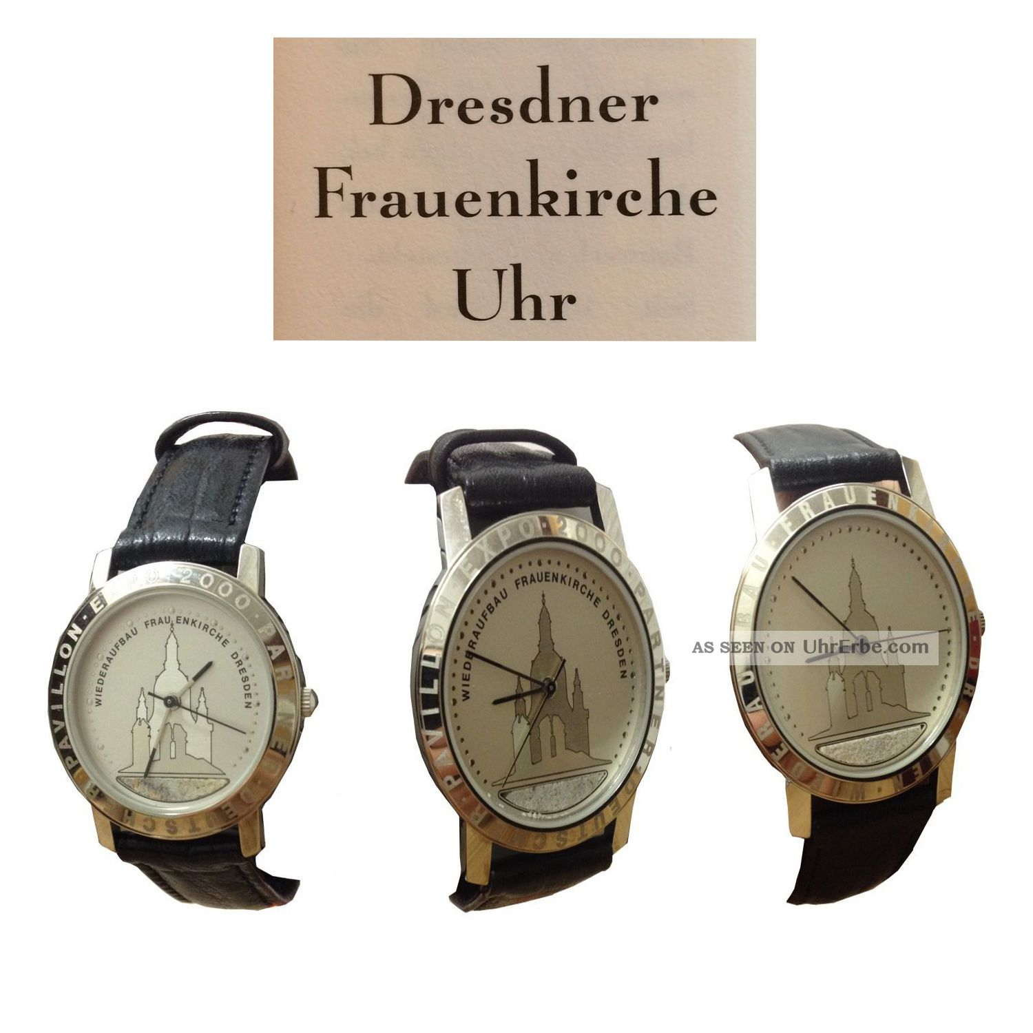 dresdner frauenkirche uhr herren frauen damen uhr. Black Bedroom Furniture Sets. Home Design Ideas