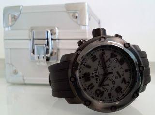 Tw Steel Tw 128 Grandeur Tech Xl Edelstahl Chronographen Uhr Ø 4,  6 Cm 559€ Bild