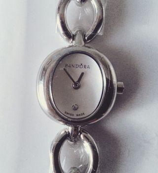 Pandora Uhr Circles,  Edelstahlarmband,  Silbern Bild