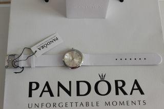 Pandora Pure Damenuhr Armbanduhr Uhr Weiß Bild