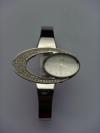 Storm London Uhr Watch Twilight Silver Stormuhr Damenuhr Oval Silber Bild