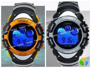 Yayava Fashion Damen Herren Sport Uhr Sportuhr Armbanduhr Digital Datumsanzeige Bild