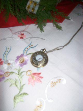 Verkaufe Günstig Schöne Silberne Taschenuhr Bild