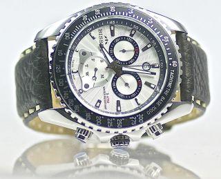 Bisset Chrono Bs25c06 Brassus Sport Swiss Made Herrenuhr Armbanduhr Bild