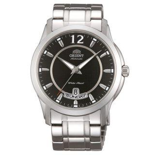 Herren Armbanduhr Orient Lexington Schwarzes Blatt Automatik Edelstahl Ev0m001b Bild