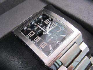 Festina Chronograph Herrenuhr Stahl Edelstahlarmband F16190 Box & Zertifikat Bild
