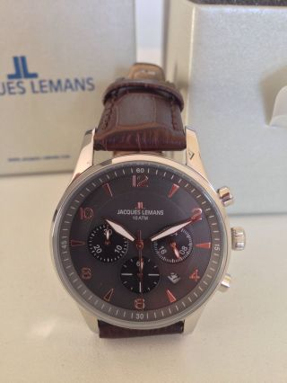 Jacques Lemans Herrenuhr Bild