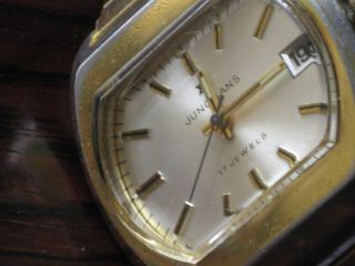 Junghans,  Hau Handaufzug 17 Jewels,  70er Jahre,  Vergoldet Bild