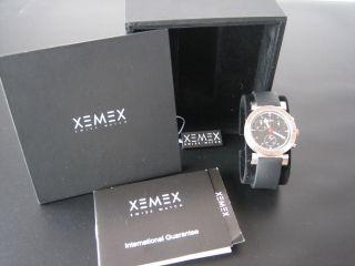 Xemex Armbanduhr Offroad Chronograph - Saphirglas,  Papiere Und Box - Neuwertig Bild