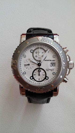Montblanc Sport Chronograph Xl Ss 7179 (automatikuhr) Bild