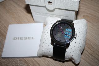 Diesel Dz1514 Edelstahl Armbanduhr Uhr Für Herren Lederband Bild
