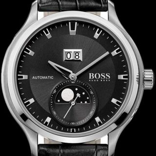 Hugo Boss Uhr Watch Automatik Mondphasen 1512656 Automatic Watch, Bild