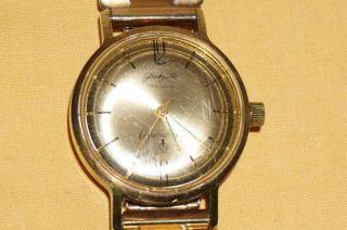 GlashÜtte Chronometer 17 Rubis Herrenuhr - Handaufzug - Seltenes Sammlerstück Bild