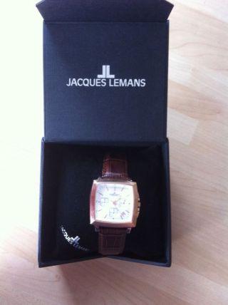 Armbanduhr Jacques Lemans Herrenuhr Bild