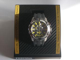 Festina Chronograph Ifmos62 Tour De France Gelb 2009 Bild