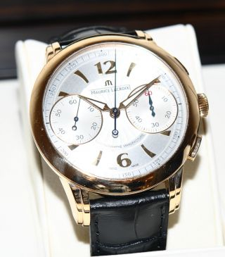 Maurice Lacroix Le Chronographe Masterpiece Gold Mp7008 Limitiert 180 V 250 Bild