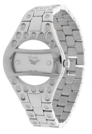 Misaki Damen Armbanduhr Silber Pwposeidon Bild