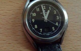 Herren Funk Armbanduhr Junghans Mega Dcf - 77 Bild