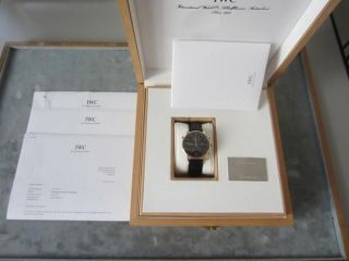 Iwc Portugieser Rattrapante Chronograph 371210 / 18k Rosegold / 2 Jahre Bild