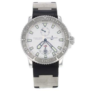 Ulysse Nardin Marine Chronometer 263 - 33 Edelstahl Automatic Herrenuhr Bild
