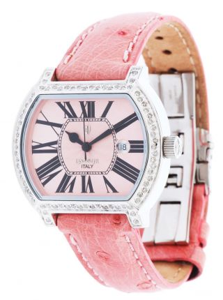 Lancaster Damen Armbanduhr Rosa Ola0281ronr - Roro Bild