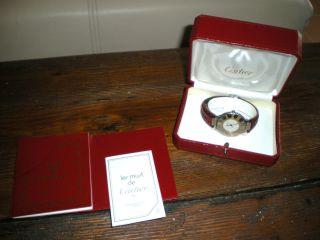 Cartier Damenarmbanduhr - Herren Bild