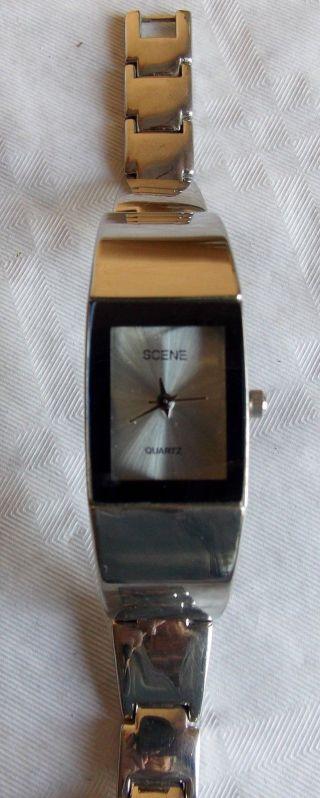 Damen Uhr,  Scene,  Edelstahl Bild