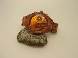 Dkny Ny - 8583 Donna Karen Braune Uhr Damen Schmuckuhr Damenuhr Bild