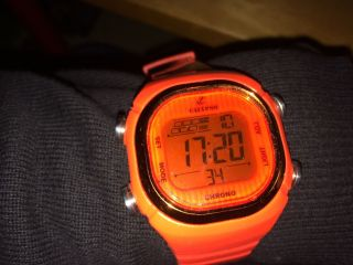 Calypso Uhr Unisex Orange Digital Uhren Kollektion Uk5581/5 Bild