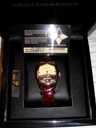 Newton Sons Armbanduhr Bild
