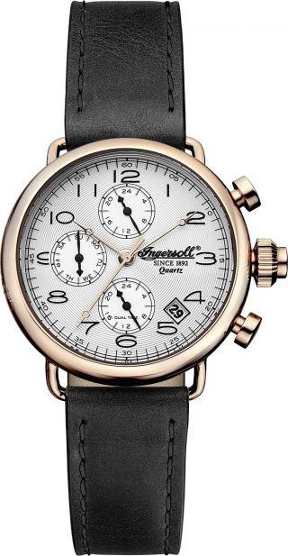 Ingersoll - Chesterfield - Inq008slrs Sehr Schöne Armbanduhr Mit Quartzwerk Bild