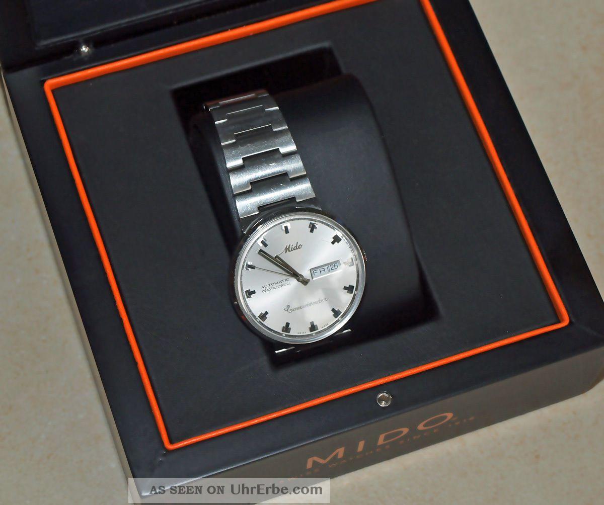 Mido Commander Herrenarmbanduhr Datoday Automatik Armbanduhren Bild