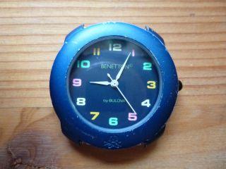 United Colors Of Benetton By Bulova - Armbanduhr - Uhr - Für Sammler Und Bastler Bild
