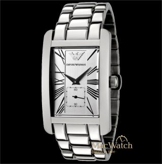 Emporio Armani Herren Uhr Ar0145 Armbanduhr Klassik Ovp Bild