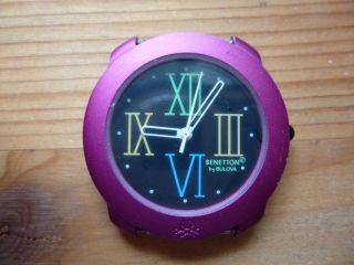United Colors Of Benetton - Armbanduhr - Uhr - Für Sammler Und Bastler Bild