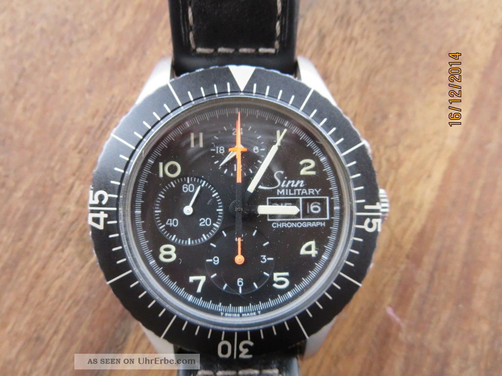 Sinn Military (modell 156) Mit Lemania Werk 5100 Armbanduhren Bild