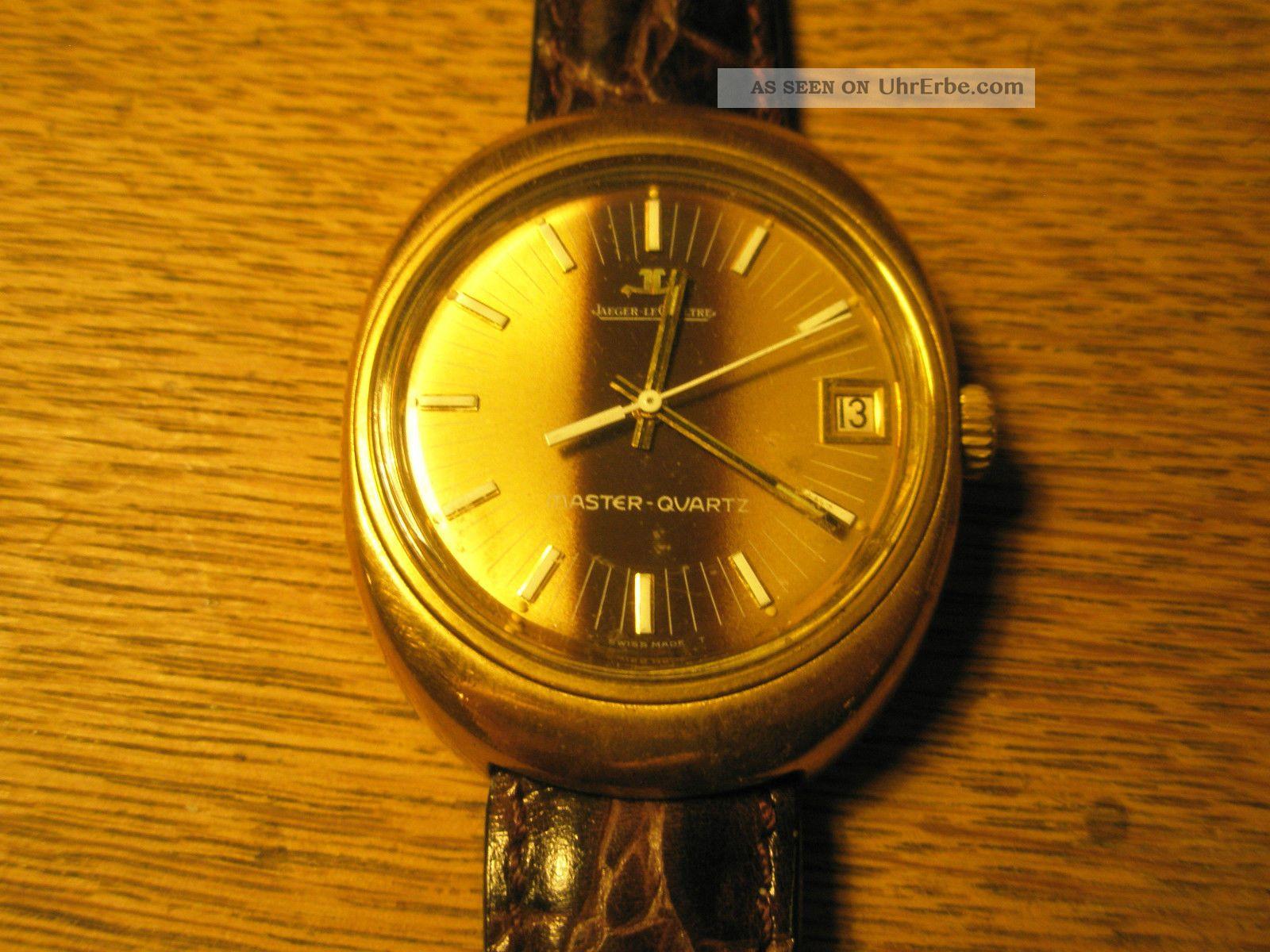 Frühe Jaeger Lecoultre Masterquartz Armbanduhren Bild