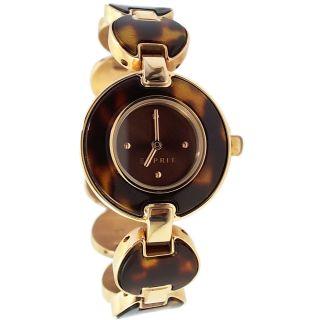 Esprit Damenuhr Armbanduhr Rosegold Gold Bernstein Farben Armband Kette Design Bild