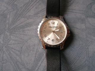 Herrenuhr Moderne Aquamar Armbanduhr Lederdesignarmband Uhr Aq - 7932 Bild