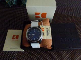 Orig.  Hugo Boss Orange Armbanduhren Mit Weiße Gummi Armband, Bild