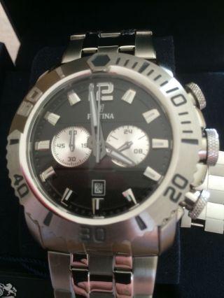Festina Sport F16613/3 Armbanduhr Chronograph Für Herren Np.  179€ Bild