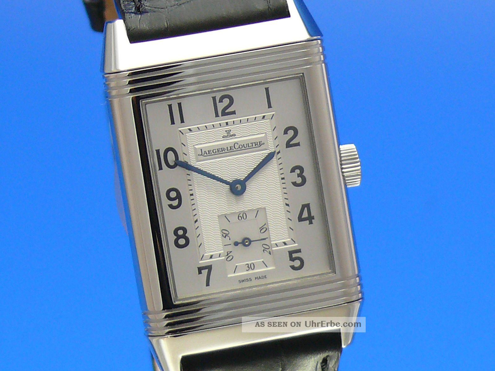 Jaeger - Lecoultre Reverso Grande Taille Ref.  270.  840.  6 Ankauf Von Luxusuhren Armbanduhren Bild