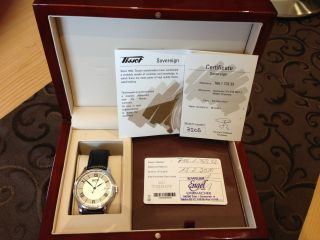 Tissot Heritage Sovereign Automatic T66.  1.  723.  33 Bild